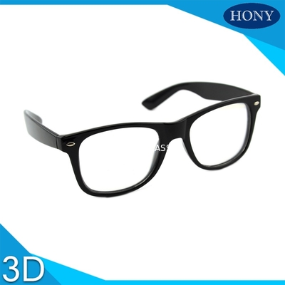 Cinema White Circular Polarized 3D Glasses foldable arms WITH Anti UV