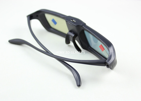 Infrared Active Shutter 3D TV Glasses Universal With Mini USB Connector